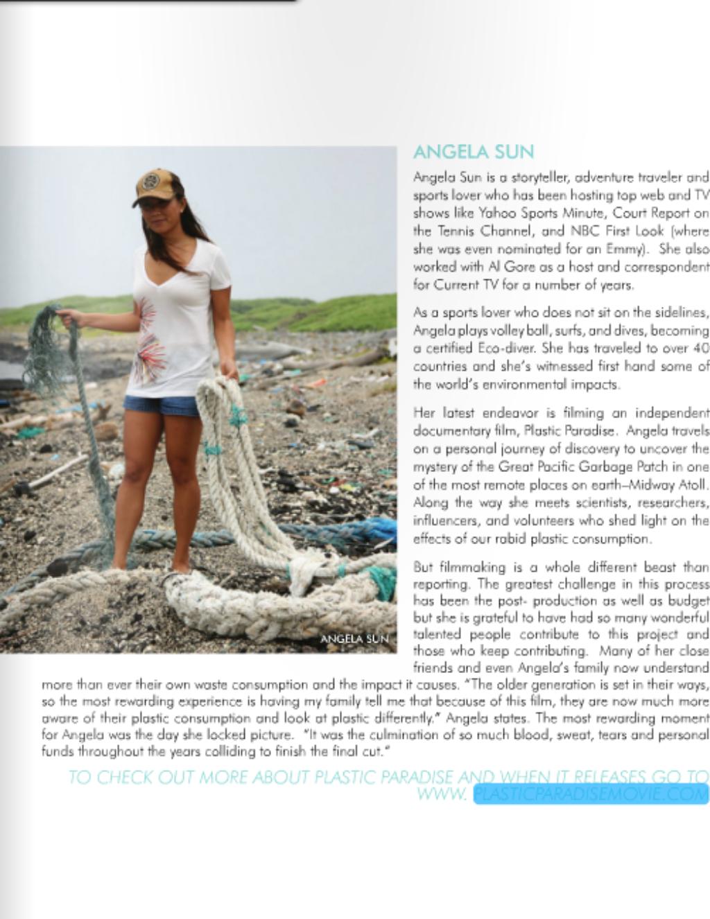 """Women We Admire"" CocoEco Magazine July/August 2012"