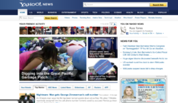 "My article ""Digging up the Great Pacific Garbage Patch"" made Front Page of Yahoo News!"