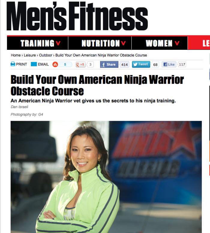 Men's Fitness Magazine June 2012