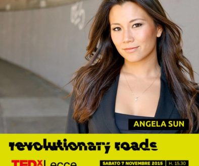 Speaking at 'Revolutionary Roads' TedxLecce in Italy November 7th!